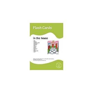 Miamaus Verlag Publishing Flashcards: In the House Language Arts Workbook, Preschool - Grade 3 [eBook]