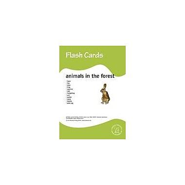 Miamaus Verlag Publishing Flashcards: Animals In the Forest Language Arts Workbook, Preschool - Grade 3 [eBook]