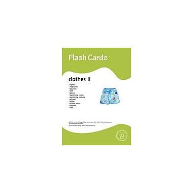 Miamaus Verlag Publishing Flashcards: Clothes Ii Language Arts Workbook, Preschool - Grade 3 [eBook]