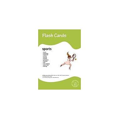 Miamaus Verlag Publishing Flashcards: Sports Language Arts Workbook, Preschool - Grade 3 [eBook]