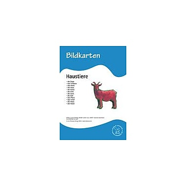 Miamaus Verlag Publishing German Flashcards: Pets Language Arts Workbook, Grade 1 - Grade 6 [eBook]