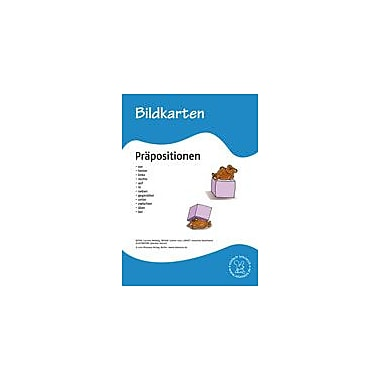 Miamaus Verlag Publishing German Flashcards: Prepositions Language Arts Workbook, Grade 1 - Grade 6 [eBook]
