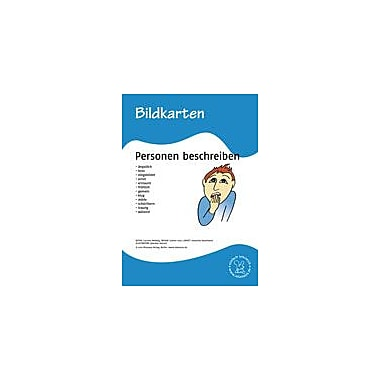 Miamaus Verlag Publishing German Flashcards: Describing People Language Arts Workbook, Grade 1 - Grade 6 [eBook]