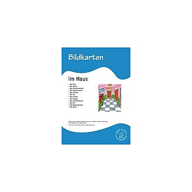 Miamaus Verlag Publishing German Flashcards: In the House Language Arts Workbook, Grade 1 - Grade 6 [eBook]