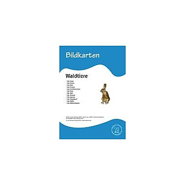 Miamaus Verlag Publishing German Flashcards: Animals In the Forest Language Arts Workbook, Grade 1 - Grade 6 [eBook]