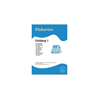 Miamaus Verlag Publishing German Flashcards: Clothes Ii Language Arts Workbook, Grade 1 - Grade 6 [eBook]
