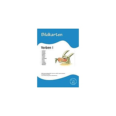 Miamaus Verlag Publishing German Flashcards: Verbs I Language Arts Workbook, Grade 1 - Grade 6 [eBook]