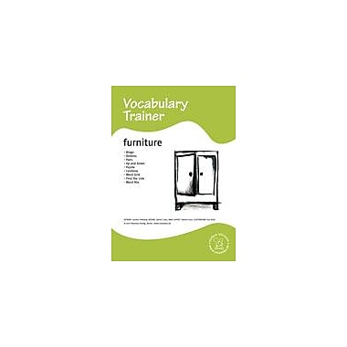 Miamaus Verlag Publishing English Vocabulary Trainer: Furniture Language Arts Workbook, Preschool - Grade 3 [eBook]