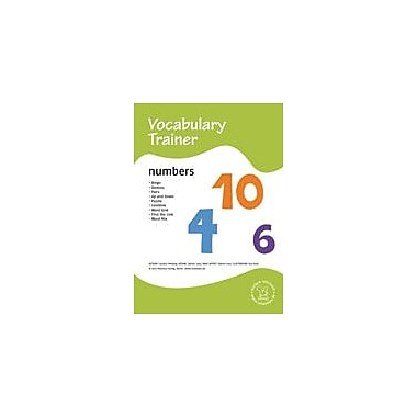 Miamaus Verlag Publishing English Vocabulary Trainer: Numbers Language Arts Workbook, Preschool - Grade 3 [eBook]