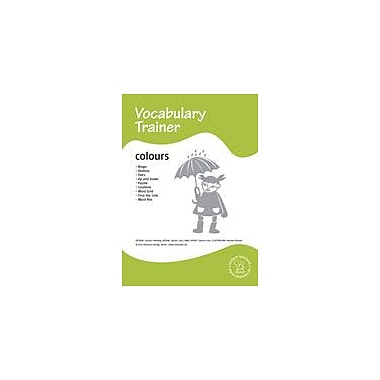 Miamaus Verlag Publishing English Vocabulary Trainer: Colours Language Arts Workbook, Preschool - Grade 3 [eBook]