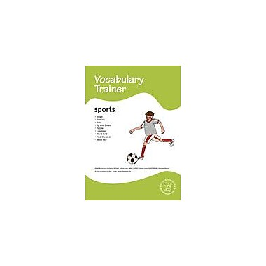 Miamaus Verlag Publishing English Vocabulary Trainer: Sports Language Arts Workbook, Preschool - Grade 3 [eBook]