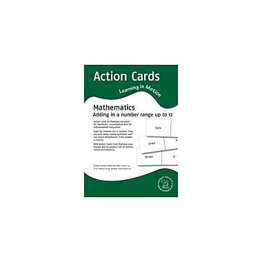 Miamaus Verlag Publishing Action Cards, Learning In Motion: Adding In A Number Range Up to 12 Math Workbook, Grade 1 [eBook]
