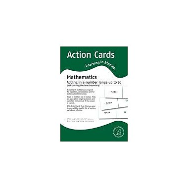 Miamaus Verlag Publishing Action Cards, Learning In Motion: Adding In A Number Range Up to 20 Workbook [eBook]