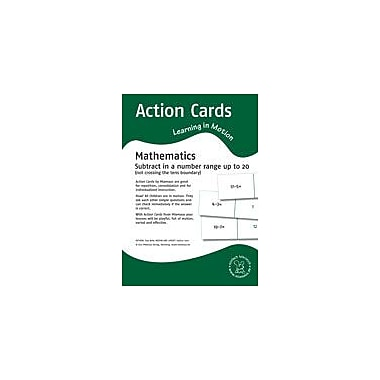 Miamaus Verlag Publishing Action Cards, Learning In Motion: Subtract In A Number Range Up to 20 Workbook [eBook]