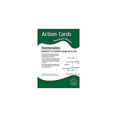 Miamaus Verlag Publishing Action Cards, Learning In Motion: Subtract In A Number Range Up to 100 Workbook [eBook]