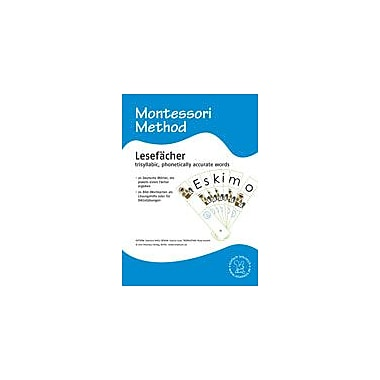 Miamaus Verlag Publishing Montessori: Lesefacher 3, Trisyllabic Words (German Materials) Workbook, Preschool - Grade 1 [eBook]