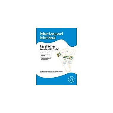 Miamaus Verlag Publishing Montessori: Lesefacher, Words Starting With 'Sch' (German Materials) Workbook [eBook]