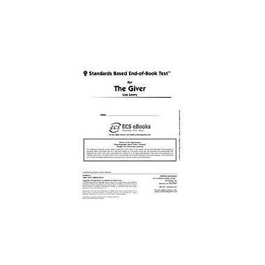 Novel Units Standards Based End-Of-Book Test for the Giver Language Arts Workbook, Grade 7 - Grade 8 [eBook]