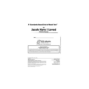 Novel Units Standards Based End-Of-Book Test for Jacob Have I Loved Language Arts Workbook, Grade 7 - Grade 8 [eBook]
