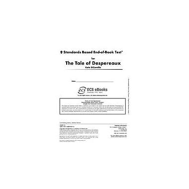 Novel Units Standards Based End-Of-Book Test for the Tale of Despereaux Language Arts Workbook, Grade 5 - Grade 6 [eBook]