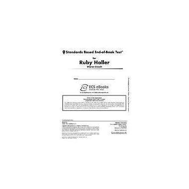 Novel Units Standards Based End-Of-Book Test for Ruby Holler Language Arts Workbook, Grade 5 - Grade 6 [eBook]
