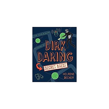 Orca Book Publishers Dirk Daring, Secret Agent Reading & Writing Workbook, Grade 4 - Grade 7 [eBook]