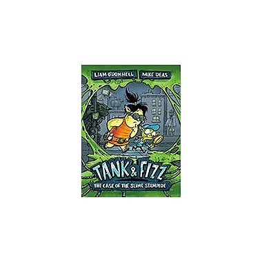 Orca Book Publishers Tank & Fizz: the Case of the Slime Stampede Reading & Writing Workbook, Grade 4 - Grade 7 [eBook]
