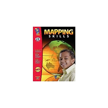 On The Mark Press Mapping Skills Gr. 4-6 Geography Workbook, Grade 4 - Grade 6 [eBook]
