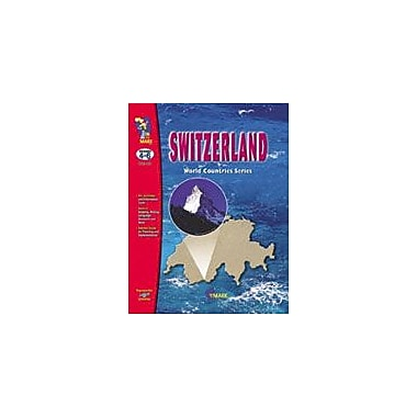 On The Mark Press Switzerland Geography Workbook, Grade 4 - Grade 6 [eBook]