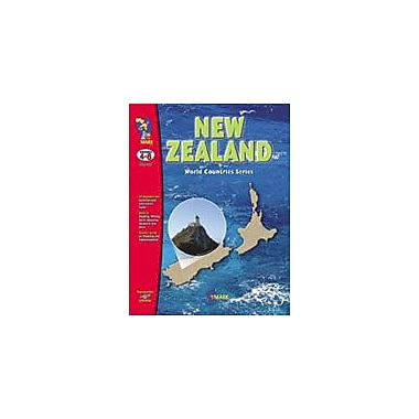 On The Mark Press New Zealand Geography Workbook, Grade 4 - Grade 8 [eBook]