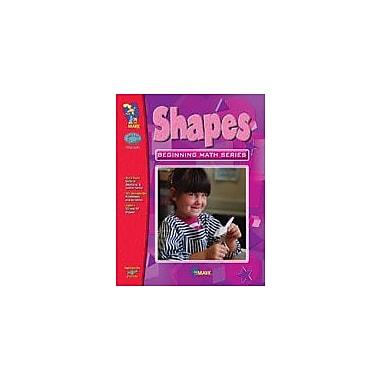 On The Mark Press Shapes, Beginning Math Series Math Workbook, Grade 1 - Grade 3 [eBook]