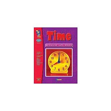 On The Mark Press Time, Beginning Math Series Math Workbook, Grade 1 - Grade 3 [eBook]
