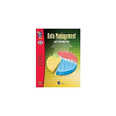On The Mark Press Data Management Math Workbook, Grade 4 - Grade 6 [eBook]