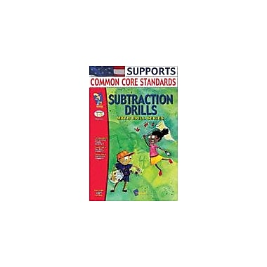 On The Mark Press Subtraction Drills Math Workbook, Grade 1 - Grade 3 [eBook]