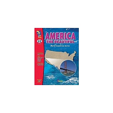 On The Mark Press America the Beautiful Geography Workbook, Grade 4 - Grade 6 [eBook]