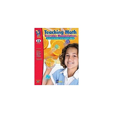 On The Mark Press Teaching Math With Everyday Manipulatives Math Workbook, Grade 4 - Grade 6 [eBook]