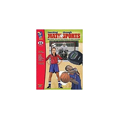 On The Mark Press Teaching Math Through Sports Math Workbook, Grade 4 - Grade 6 [eBook]