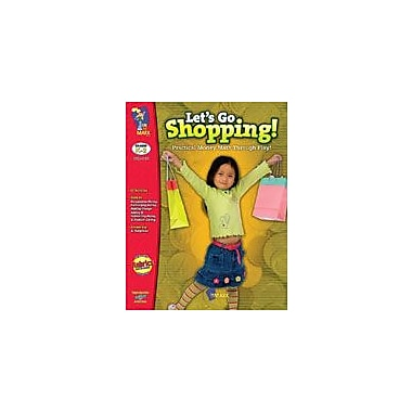On The Mark Press Let's Go Shopping Math Workbook, Grade 1 - Grade 2 [Enhanced eBook]