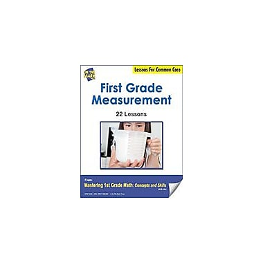On The Mark Press First Grade Measurement Lessons For Common Core Math Workbook, Grade 1 [eBook]