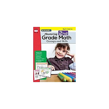 On The Mark Press Mastering Second Grade Math: Concepts & Skills Aligned to Common Core Math Workbook, Grade 2 [eBook]