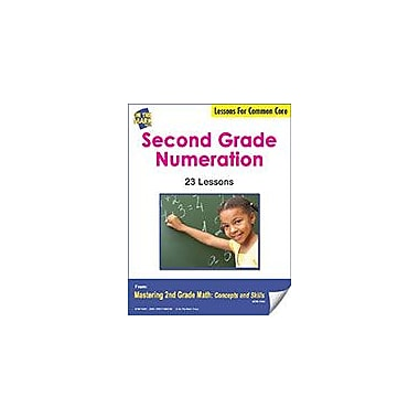 On The Mark Press Second Grade Numeration Lessons For Common Core Math Workbook, Grade 2 [eBook]