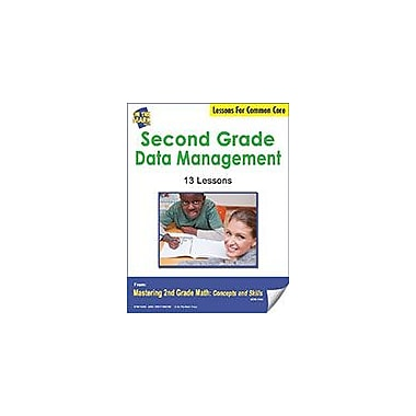 On The Mark Press Second Grade Data Management Lessons For Common Core Math Workbook, Grade 2 [eBook]