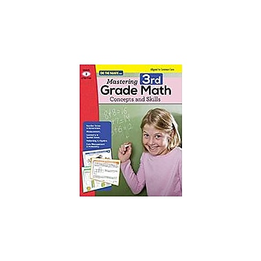 On The Mark Press Mastering Third Grade Math: Concepts & Skills Aligned to Common Core Math Workbook, Grade 3 [eBook]