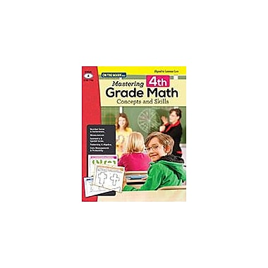 On The Mark Press Mastering Fourth Grade Math: Concepts & Skills Aligned to Common Core Math Workbook, Grade 4 [eBook]