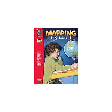 On The Mark Press Mapping Skills Social Studies Workbook, Grade 1 - Grade 3 [eBook]