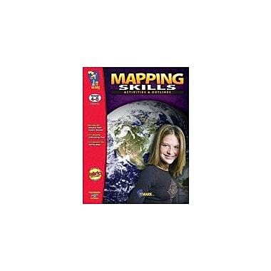 On The Mark Press Mapping Activities and Outlines! Social Studies Workbook, Grade 4 - Grade 8 [eBook]