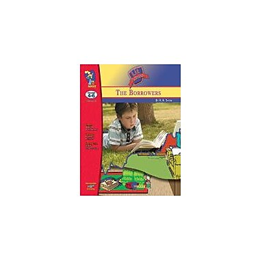 On The Mark Press Borrowers, the Lit Link: Novel Study Guide Language Arts Workbook, Grade 4 - Grade 6 [eBook]