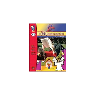 On The Mark Press Best Christmas Pageant Ever Lit Link: Novel Study Guide Language Arts Workbook, Grade 4 - Grade 6 [eBook]