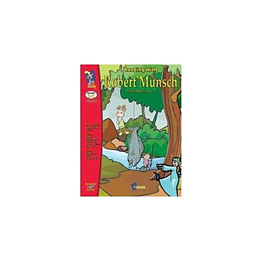 On The Mark Press Reading With Robert Munsch Language Arts Workbook, Grade 1 - Grade 3 [eBook]