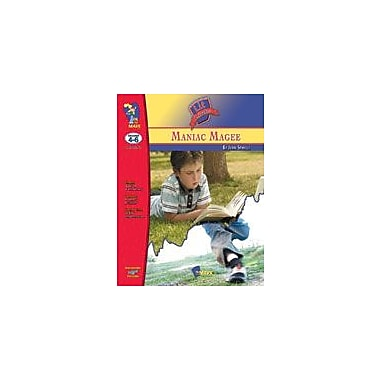 On The Mark Press Manic Magee Lit Link: Novel Study Guide Language Arts Workbook, Grade 4 - Grade 6 [eBook]